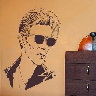 Nálepka na zeď David Bowie 001 - 104x120 cm