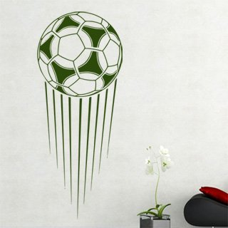 Samolepka na stěnu Fotbalový míč 008 - 120x294 cm