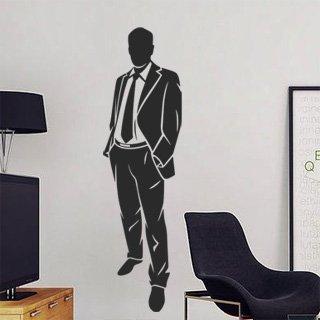 Samolepka na zeď Obchodník 002 - 33x120 cm