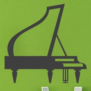 Nálepka na zeď Piano 002 - 120x115 cm