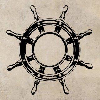Samolepka Kormidlo 002 - 100x105 cm