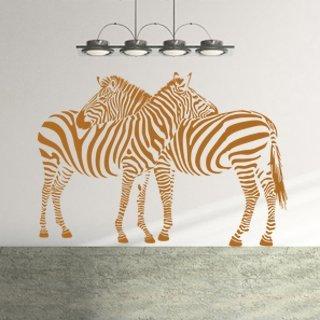 Samolepka na zeď Zebra 002 - 120x84 cm