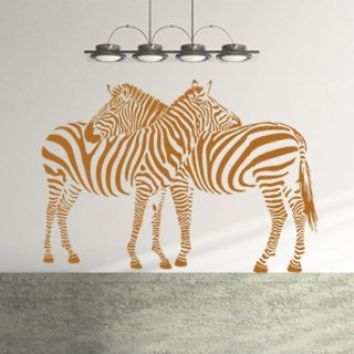 Samolepka Zebra 002 - 143x100 cm