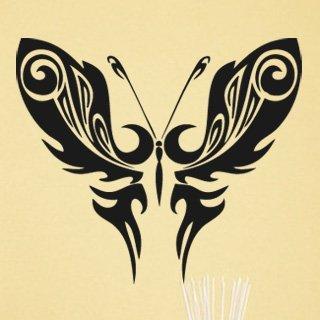 Samolepka Motýl 012 - 93x80 cm
