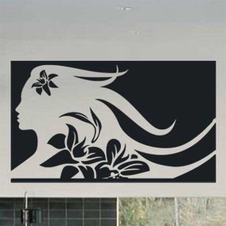 Samolepící dekorace Slečna 002 - 136x80 cm
