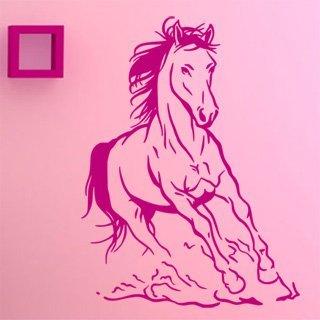 Nálepka na zeď Kůň 027 - 100x134 cm