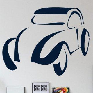 Samolepka na zeď Auto 034 - 76x60 cm