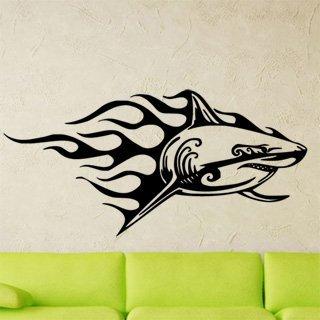 Samolepící dekorace Žralok 010 - 207x100 cm