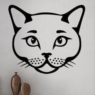 Samolepka Kočka 0492 - 90x80 cm