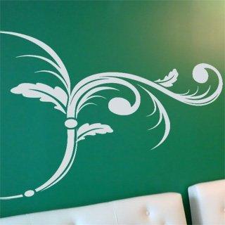 Samolepka na stěnu Ornamenty z rostlin 006 - 135x100 cm
