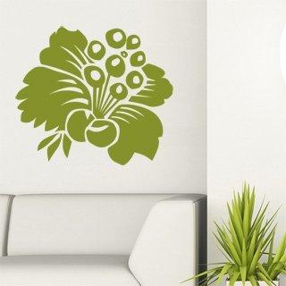 Nálepka na zeď Květiny 008 - 136x120 cm