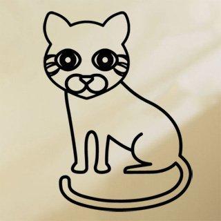 Samolepka Kočička 0536 - 75x100 cm