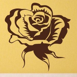 Samolepka na zeď Růže 004 - 60x63 cm