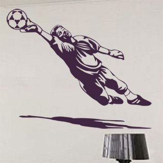 Samolepka na zeď Fotbalista 013 - 73x60 cm