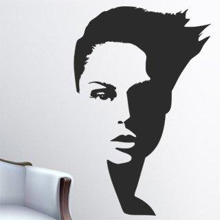 Samolepka na zeď Žena 003 - 60x92 cm