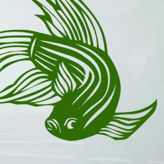 Nálepka na zeď Ryba 002 - 128x100 cm