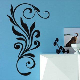 Samolepící dekorace Ornamenty z rostlin 009 - 100x170 cm