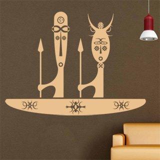 Samolepící dekorace Afrika 002 - 136x100 cm