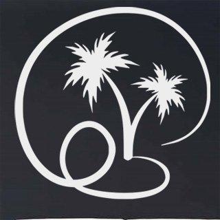 Samolepka Palmy 008 - 82x80 cm