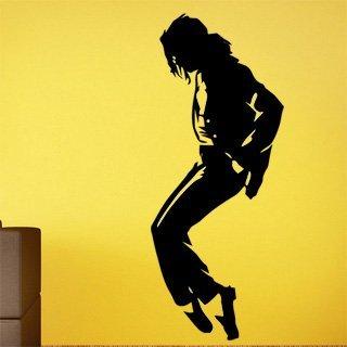 Samolepka na stěnu Michael Jackson 002 - 120x296 cm