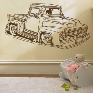 Samolepka na stěnu Auto 003 - 225x120 cm