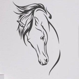 Samolepící dekorace Kůň 022 - 100x156 cm