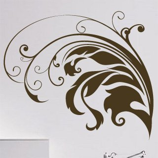 Samolepka Rostlina 009 - 94x80 cm