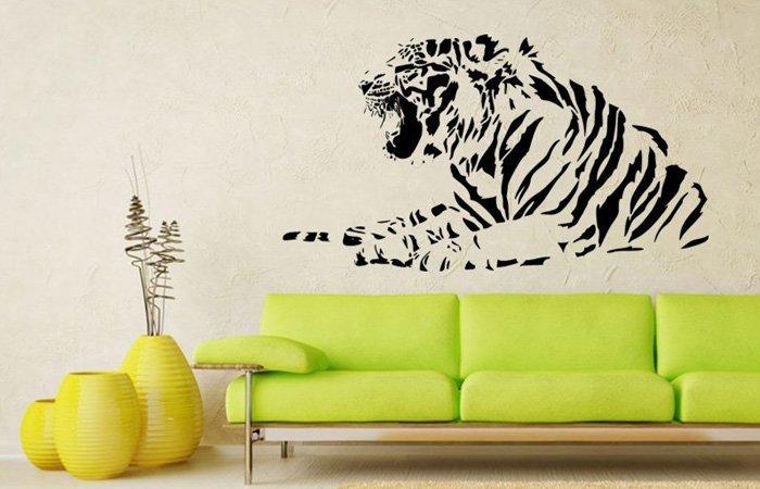 Vrááu – nebojte se, tygr na zdi nekousne