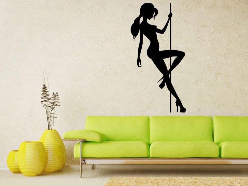 Samolepka na zeď Pole dance 0976