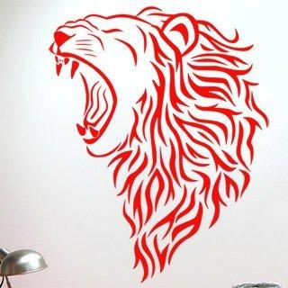 Samolepka na zeď Lev 007 - 60x76 cm