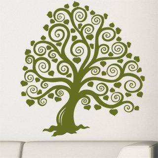 Samolepící dekorace Strom 015 - 110x120 cm