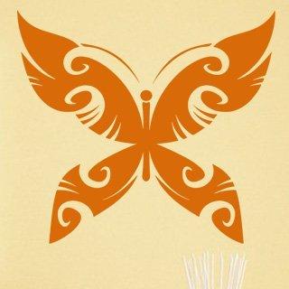 Samolepící dekorace Motýl 015 - 111x100 cm