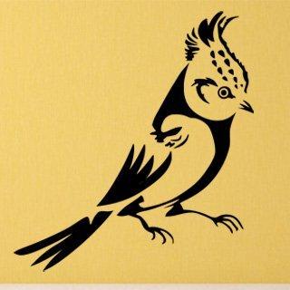 Samolepka na stěnu Pták 011 - 120x130 cm