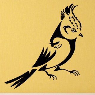 Samolepka Pták 011 - 80x87 cm