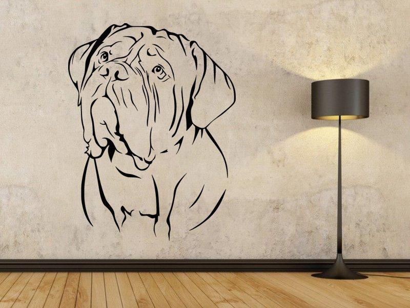 Samolepka na zeď Doga 001