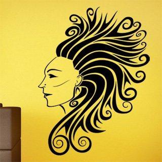 Samolepka na zeď Dívka 014 - 60x81 cm