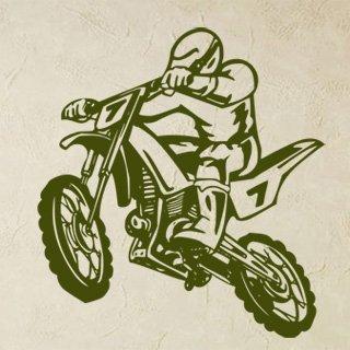 Samolepka Motorka 011 - 80x87cm