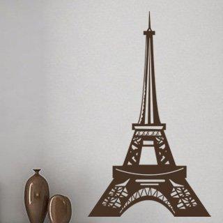 Samolepka na zeď Eifelova věž 006 - 60x100 cm