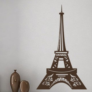 Samolepka Eifelova věž 006 - 72x120 cm