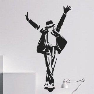 Nálepka na zeď Michael Jackson 003 - 100x189 cm
