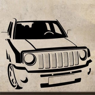 Samolepka Auto 041 - 103x80 cm