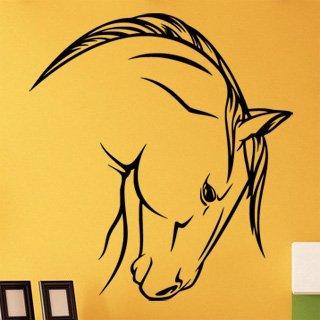 Samolepka na stěnu Kůň 0397 - 120x132 cm