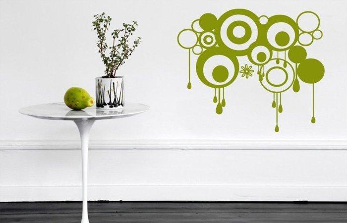 Bubli, bubli, samolepicí bubliny na zeď…