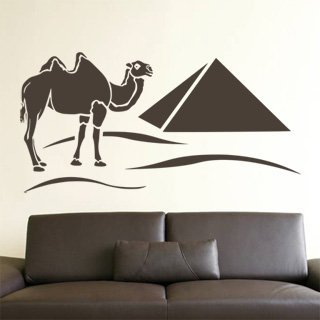 Samolepka Egypt 002 - 160x80 cm