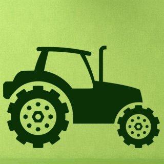 Samolepící dekorace Traktor 002 - 154x100 cm
