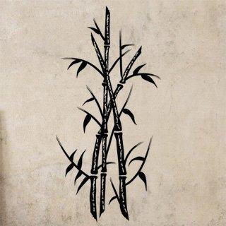 Nálepka na zeď Bambus 004 - 120x248 cm