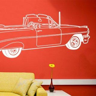Samolepka na zeď Auto 005 - 120x41 cm