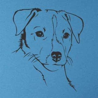 Samolepka Jack Russell Teriér 001 - 80x94 cm