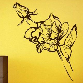 Nálepka na zeď Růže 012 - 120x238 cm