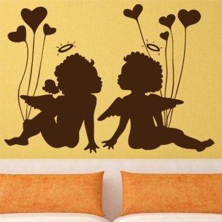 Samolepící dekorace Anděl 002 - 140x100 cm